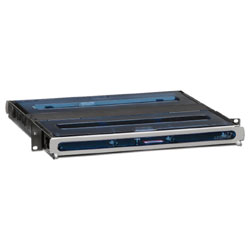 Leviton 1RU Opt-X Ultra Fiber Enclosure with Sliding Tray