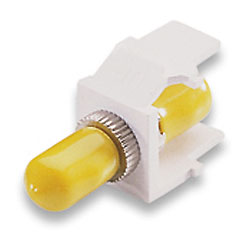 Leviton Fiber Optic QuickPort Coupling - ST SM/MM