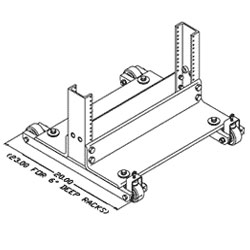 Chatsworth Products Rack Standard Rollers
