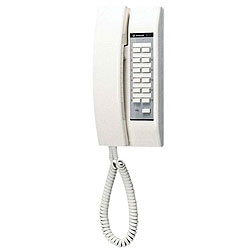 Aiphone 12-Call Selective Call Intercom with LED and Tone-Off Switch