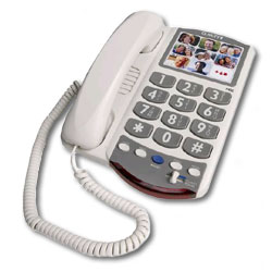 Clarity P400 Amplified Phone with Picture Perfect Dialing