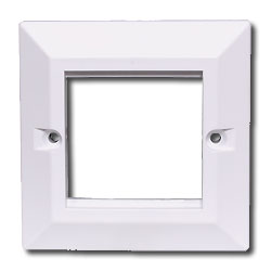 Hubbell Single-Gang Beveled Edge Continental Frame