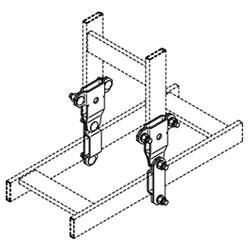 Chatsworth Products Vertical Swivel Splice Kit