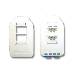 ICC Multi-Media Outlet - 2-Port Single Gang