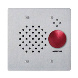 Aiphone Vandal Resistant Sub Station with Red Button