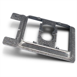 Erico New Constructed Double Gang Plate Bracket