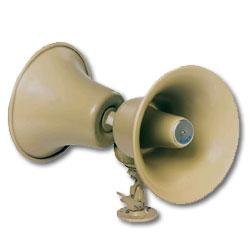 Bogen Twin Re-entrant Horns 30 Watt Bi-directional Loudspeaker