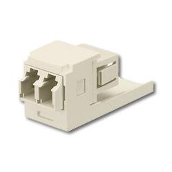 Panduit® Mini-Com LC Sr./Jr. Fiber Optic Adapter Modules with Zirconia Ceramic Split Sleeve