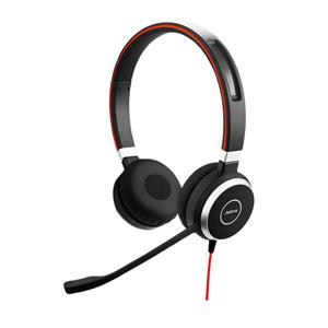 Jabra Evolve 20 Microsoft Skype for Business Corded Headset (Stereo)