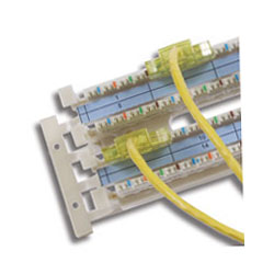 Hubbell XPert Label Holder Kit - 110 Wiring Block (Package of 10)