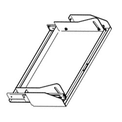 Chatsworth Products Tilting Keyboard Tray
