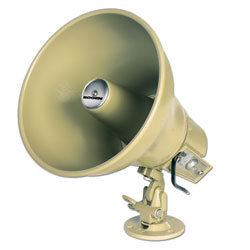 Bogen 15 Watt Amplified Horn with Volume Control