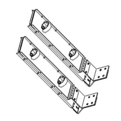Chatsworth Products Cable Retractor Arm Kit