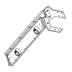 Chatsworth Products Cable Management Arm for 12227 Series