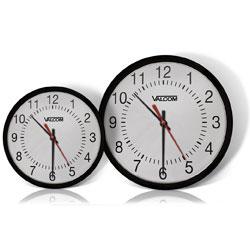 Valcom IP PoE Automatic Time Set Analog Double-Sided Clock