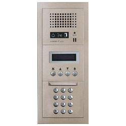 Aiphone Audio Entrance Station with Digital Directory