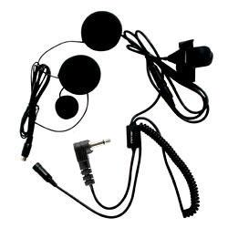 Pryme SPM-800 HIGHWAY Series Medium Duty In-Helmet Microphone for Full-Face Helmets for Motorola x63 Radios