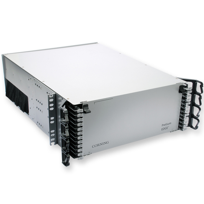 Corning  Pretium EDGE® 4 Rack Housing Unit, for Pretium EDGE® Solution Modules and Panels