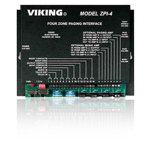 Viking 4-Zone Page Interface