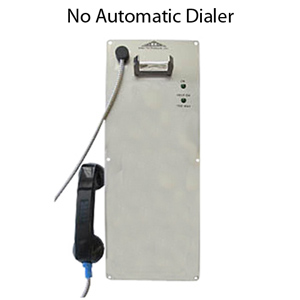 Allen Tel Single Line Ring Down Phone Less Housing - ADA Compliant
