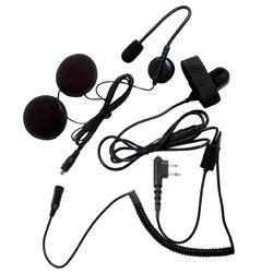 Pryme SPM-800 HIGHWAY Series Medium Duty In-Helmet Microphone for Open Face Helmets for Motorola x03 Radios