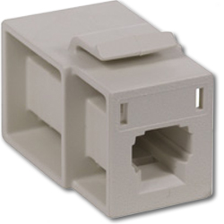 Hubbell MT-RJ Module Feed Through (flush mount)