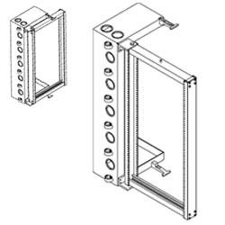 Chatsworth Products 12 Inch Deep Universal Swing Gate Rack