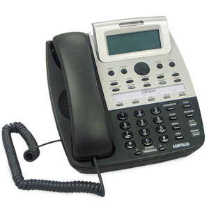 ITT Cortelco 7 Series 4-Line Telephone with Built-In Auto Attendant and Voice Mail