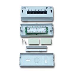 Allen Tel Versatap 6 Port Modular Cat 5e Patch Box