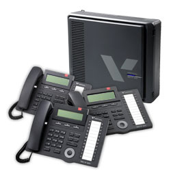 Vertical 3 x 8 Basic KSU with (3) 24-Button Digital Phone Bundle