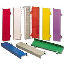 Siemon Colored Hinged Cover for 66M1 Blocks