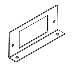 Legrand - Wiremold RFB4 Shallow Steel Series Internal GFI Receptacle Bracket