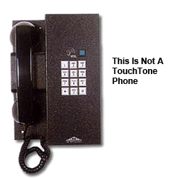 Allen Tel Elevator Phone with Pulse (Rotary) Dial