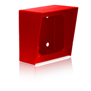 Viking 5x5 Surface Mount Box in Red Powder Painted Steel Finish