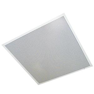 Valcom 2' x 2' One Way Dual Input Ceiling Speaker