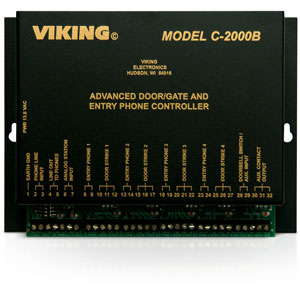 Viking Advanced Door and Gate Entry Phone Controller