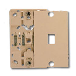Suttle 8-Conductor Wallplate with Screw Terminals & Snap-On Cover