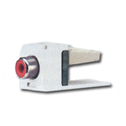 Panduit® Mini-Com RCA 110 Style Punchdown Module - Red Insert