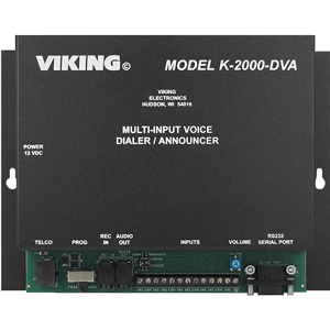 Viking Multi-Number Alarm Dialer with Digital Announcer