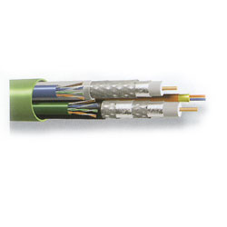 Belden Bundled Multimedia Cable - 2 RG6 / 2 Cat 5 / 2 Fiber, 500'