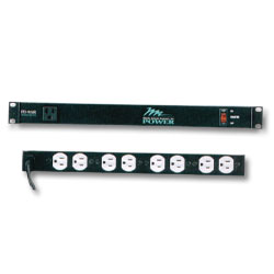 Middle Atlantic 115 Volt Rackmount Power Strip - 15 Amp, 9 Outlets