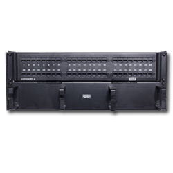 Hubbell SpeedGain  Cat 6A  48-Port Universal Patch Panel (Wall Mount)