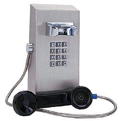 Ceeco Vandal Resistant Stainless Steel Rugged Telephone