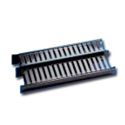 HellermannTyton Dual Sided Horizontal Wire Management