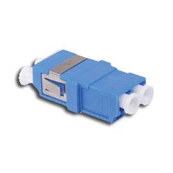 Hubbell Fiber Adapter, SM/MM, LC, Duplex