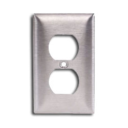 Hubbell Single Gang Duplex Infin-e-Station Cover Plate