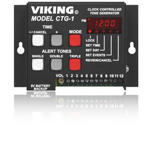 Viking Clock Controlled Tone Generator