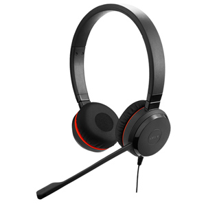 Jabra Evolve 20 Unified Communications Corded Headset (Stereo)