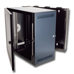 Chatsworth Products Cube-iT PLUS Wall-Mount Cabinet  with Solid Plexiglas Door 18