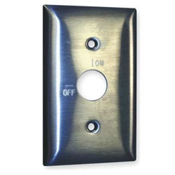 Hubbell Switch Stainless Steel Wall Plate